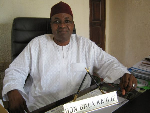 Former Minister of Sports, Bala Bawa Ka'oje