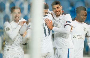 Leon Balogun was on the scoresheet as his side faced Arsenal