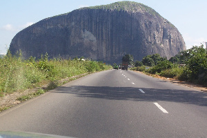 Aso Rock in Abuja