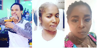 Prophet Chukwuemeka Odumeje (L) Ada Jesus (M) Rita Edochie (R)