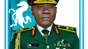 Chief of Army Staff (COAS), Lt.-Gen. Faruk Yahaya
