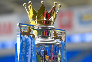 The English Premier League trophy