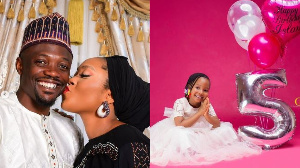 Ahmed Musa welcomes baby boy with wife, daughter marks 5th birthday