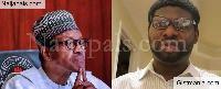 President Muhammadu Buhari and Adewale Giwa
