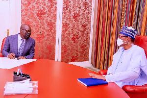 President Muhammadu Buhari, Mr. Godwin Obaseki