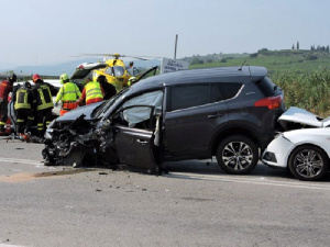 Six persons were reportedly killed in the accident