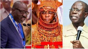 Obaseki, Oba Of Benin And Oshiomhole