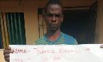 Tunde Bello, kidnapper and rapist arrested in Ogun