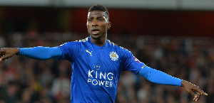 Kelechi Iheanacho will hope to be named in Leicester City's starting lineup against Burnley