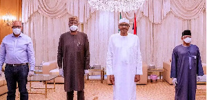 Members of the PTF meet Buhari