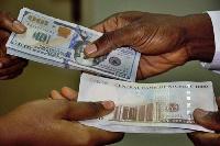 Dollar and Naira notes
