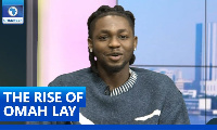 Omah Lay was a guest on Channels TV 'Rubbin Minds'