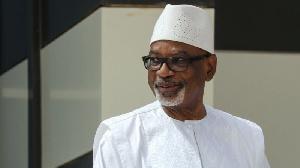 Former Malian president, Ibrahim Boubacar Keita
