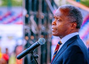 Vice President, Yemi Osibanjo
