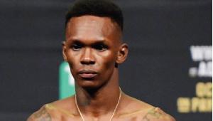 Ultimate Fighting Championship middleweight champion, Isreal Adesanya