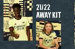 Saka models Arsenal's new away kit for next season