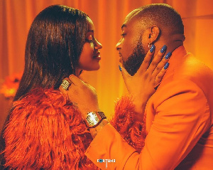 Davido and Chioma got engaged in 2019