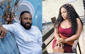Former Big Brother Naija housemate Tega and her husband