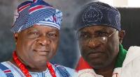 Former Osun State Governor, Olagunsoye Oyinlola, and ex-National Secretary of PDP Prof Wale OladIipo