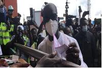 Obaseki casts his vote.