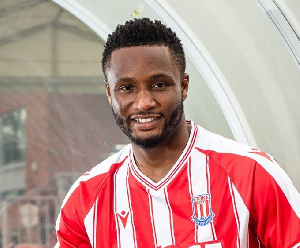 Mikel captained Stoke City to their first home win of the season