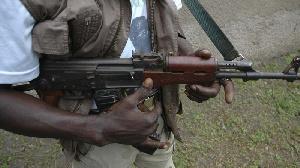Gunman file photo
