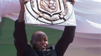 Evariste Ndayishimiye took over from Pierre Nkurunziza, who had died earlier in the month