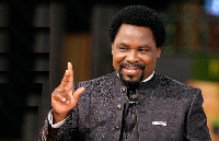 The late Founder of the Synagogue Church Of All Nations, Prophet T.B Joshua