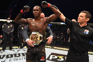 Nigeria's Israel Adesanya is working towards becoming one of the greatest products from the UFC