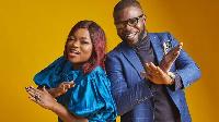 JJC Skillz and his wife, Funke Akindele