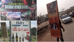10 weird outdoor advertisements you can only find in Nigeria