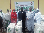 File photo: The donations made by ECOWAS
