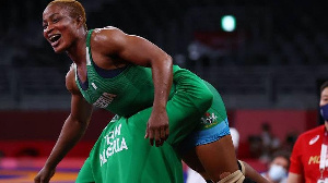 Blessing Oborududu is guaranteed of a medal in the games