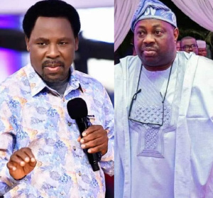 Prophet T.B. Joshua, Founder of Synagogue Church of All Nation and Dele Momodu