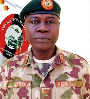 Maj.-Gen. Farouk Yahaya is the new Chief of Army Staff