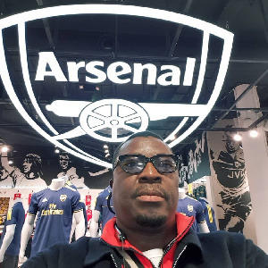 Ali Baba is a known fan of Arsenal Football Club