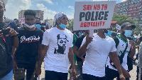 File photo: Protestors