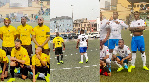 Davido tackles Laycon, Zlatan as music stars storm Lagos for epic football match