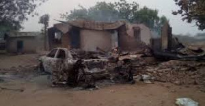 Image from the massacre in Oyo