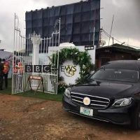 T.B Joshua will be laid in state at his church premise_image via: BBC News