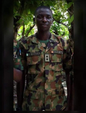 One of the slain soldiers, Umar