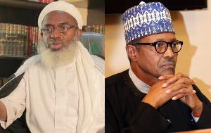 President Muhammadu Buhari and Sheikh Gumi