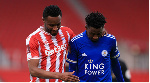 Super Eagles star Wilfred Ndidi salutes Mikel Obi after FA Cup clash
