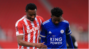 Mikel Obi and Wilfred Ndidi face off in the FA Cup