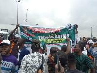 Yoruba Nation supporters