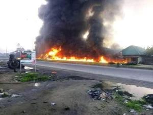 Fire at Omurelu community