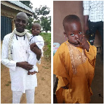 Pastor and his two-year-old son