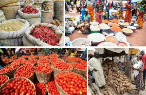 File photo: Food products in the markets