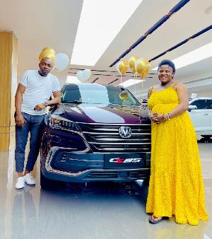 Anglea Nwosu with her husband