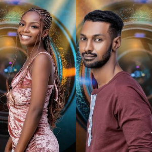 #BBNaija: Hilarious moment Peace was shocked by Yousef's accent as he pronounces 'Veto' and 'Beto'